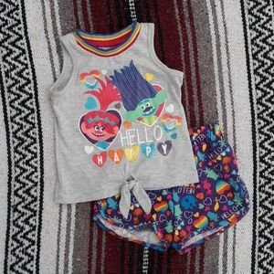 Trolls outfit
